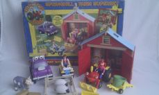 Rare Big 'Tractor Tom Springhill Farm Superset' Complete Boxed